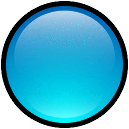 Button Blank Blue icon