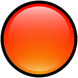 Button Blank Red icon