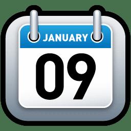 Calendar Blue icon