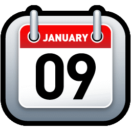 Calendar Red icon