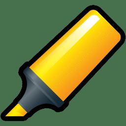 Highlighter Yellow icon