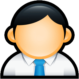 User Administrator Blue icon