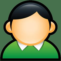 User Coat Green icon