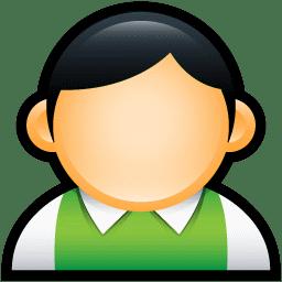 User Preppy Green icon