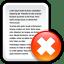 File-Delete icon