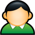 User-Coat-Green icon