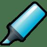 Highlighter-Blue icon