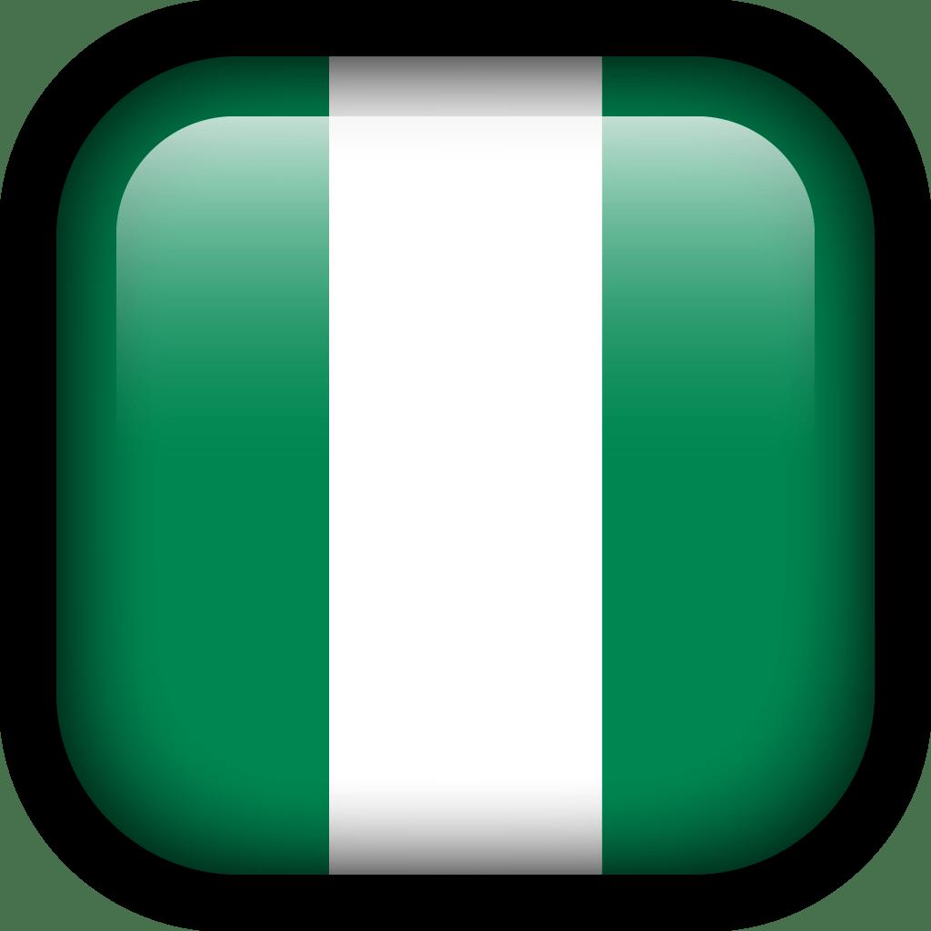 Nigeria Flag Icon Square Flags Iconset Hopstarter