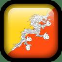 Bhutan Flag icon