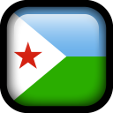 Djbouti Flag icon