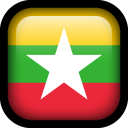Myanmar Flag icon