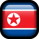 North Korea Flag icon