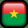 Burkina-Faso-Flag icon