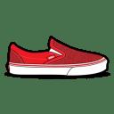 Vans Glitter Red icon