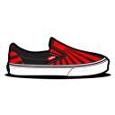 Vans Sundown Black icon