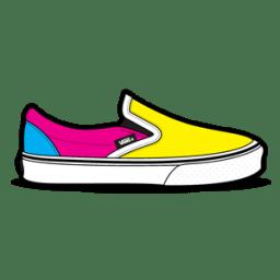 Vans Cmyk Icon Van Slip Ons Iconset Hopstarter