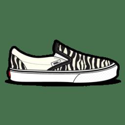 Vans Zebra icon