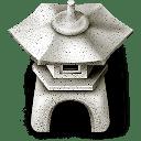 Ishidourou garden lantern icon