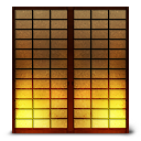 Shoji2 paper sliding door icon