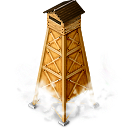 Yagura1 hot spring tower icon