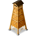 Yagura2 hot spring tower icon