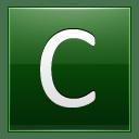 Letter C dg icon