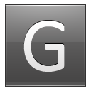 Letter-G-grey icon