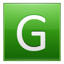 Letter G lg icon