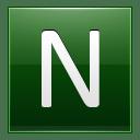 Letter N dg icon