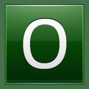 Letter O dg icon