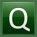 Letter Q dg icon
