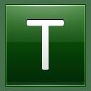 Letter T dg icon