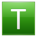 Letter T lg icon