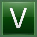 Letter V dg icon