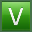 Letter V lg icon