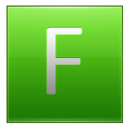Letter F lg icon