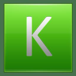 Letter K lg icon