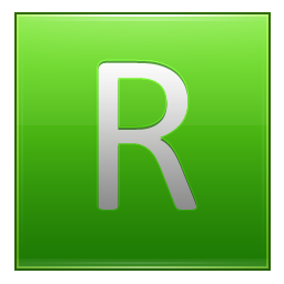 Letter R lg icon