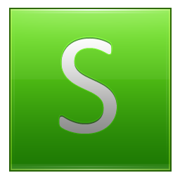 Letter S lg icon