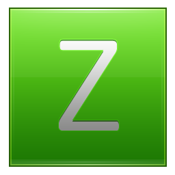 Letter Z lg icon