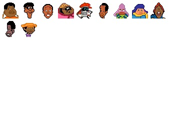 Fat Albert Icons