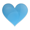 Love heart icon