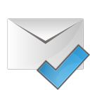 Mail check icon
