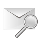 Mail search icon