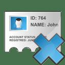 Profile delete icon