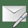Mail-write-pen icon