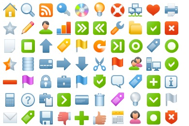 Blueberry Basic Icons