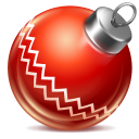 Ball red 1 icon
