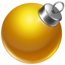 Ball yellow 2 icon