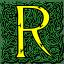 Letter r icon